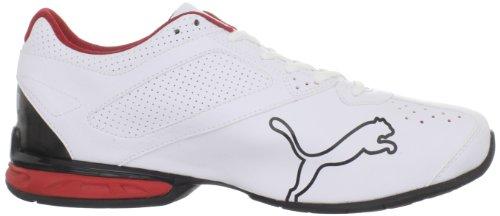 886375633292 - PUMA Men's Tazon 5 Cross-Training Shoe,White/Black/Ribbon Red,10 D US carousel main 5