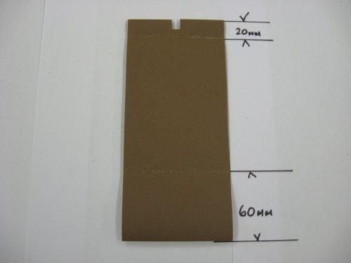 2500 Chocolate - Chocolate vertical blind slat 89mm width up to 2500mm drop by blindcorner
