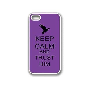 Keep Calm And Trust Him Purple Blackberry Z10 Case - For Blackberry Z10