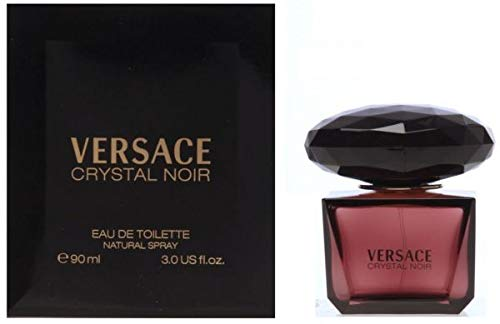- Versace Crystal Noir by Versace for Women - 3 Ounce EDT Spray