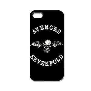 GONGXI-Patrón Música y Banda de Serie Avenged Sevenfold plástico duro caso para iPhone 5/5S