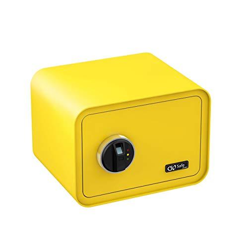 Olympia-510261427012Zitronengelb-Gosafe-100-Caja-Fuerte-con-Huellas-Dactilares-Color-Amarillo-limon