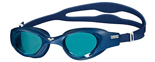 31HOoDjFMyL Cómodas gafas de natación para entrenamiento con ajuste universal y sellado suave. Lentes duras con protección UV y película antivaho. Puente de nariz autoajustable, correa dividida, sin PVC