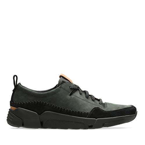 Hombre Clarks Black Triactive Negro Zapatillas para Run IwPOCwgqxa