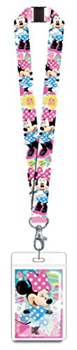 Minnie Mouse Pink Lanyard