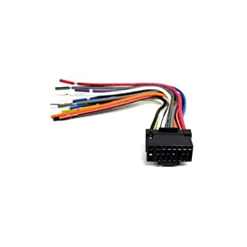 31HOqRGdgNL._SY355_ amazon com al 16b alpine 16pin wire black harness sports alpine cde 121 wiring harness at nearapp.co
