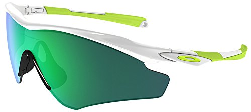 0951097ada9 Image Unavailable. Image not available for. Colour  Oakley Men s a M2 Frame  XL OO9345-06 Non-Polarized Iridium Shield Sunglasses Polished