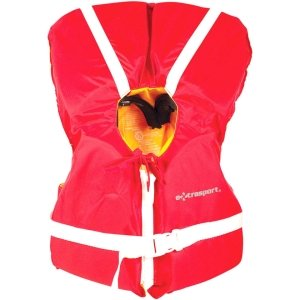 Extrasport Children's Type II PFD (Red/Yellow, Infant/Child, Under 50 Lbs) (Type Ii Infant Pfd)