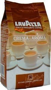 Lavazza Crema E Aroma Coffee Beans 2.2-Pound Bag (Pack Of 6) by Lavazza
