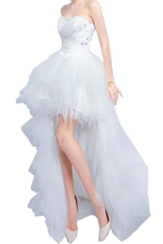 Gorgeous-Bridal-High-Low-Sweetheart-Wedding-Dresses-Layered-Ruched-Bridal-Gowns
