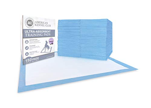 - American Kennel Club Lemon Scented Training Pads in Box (150 Pack)