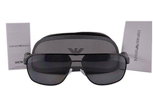 Emporio Armani EA2039 Sunglasses Black w/Polarized Grey Lens 301481 EA 2039 For - Clearance Armani