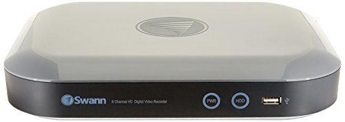 Swann - 8-channel, 4-camera Outdoor Wired 2tb Dvr Surveillan