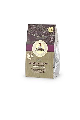 Anti-Cellulite Herb Set # 3 pour Bath 3 x 1 oz / 3 x 30 GR avec ginseng sibérien, Noeud Herbe, Agripaume, Sibérie Tansy, millepertuis, et de Mandchourie Alder (Bath de Grandma Agafia)
