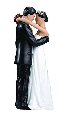 Lillian Rose Hispanic Bride and Groom Wedding Cake (Lillian Rose Cake Toppers)