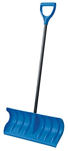 Orbit 80053 24-In. Pusher Snow Shovel with Plastic Edge
