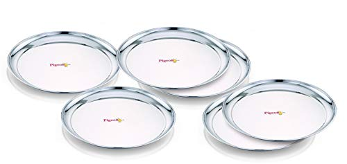 "Pigeon - Sparkle Plate Set of 6 (13"")"