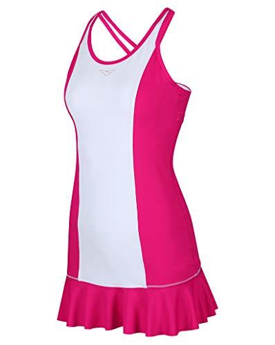 - Bace Girls Pink and White Tennis Dress; Girls Tennis Dress with Flared Skirt; Junior Tennis Dress; Girls Golf Dress; Kids Golf Clothing; Girls Sportswear; (Pink, 10-11 Years Old)