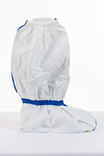 International Enviroguard ViroGuard 1, White Viroguard Boot Covers, Taped Seams, Elastic Ankle & Top, Skid Resistant Sole, 100 Case ()