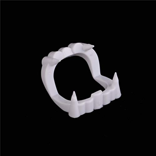 Party Diy Decorations - 1pc Luminous Vampire Fake Teeth Dracula Halloween Monster Werewolf Zombie Fangs Masquerade Cosplay - Party Decorations Party Decorations Deciduous Teeth Fake Fang Vam -