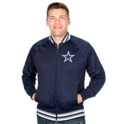 Dallas Cowboys Mitchell & Ness Top Prospect Track Jacket -
