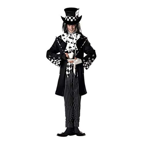 California Costumes Men's Dark Mad Hatter Costume