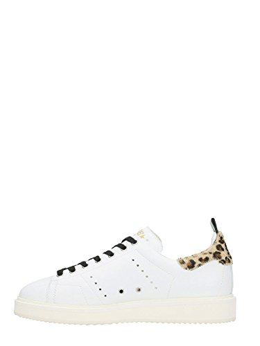 Baskets Golden Goose Donna G32ws631m2 Pelle Bianco