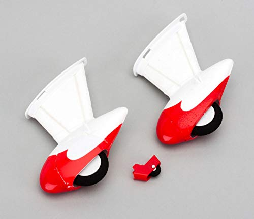 E-flite Landing Gear and Tail Wheel Set: UMX Gee Bee R2, EFLU4555