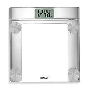 Conair Thinner cromo y vidrio báscula de baño digital de precisión, th360: Amazon.es: Hogar