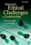 img - for BUNDLE: Johnson: Meeting the Ethical Challenges of Leadership + Northouse: Introduction to Leadership by Johnson Craig E. Northouse Dr. Peter G. (2009-07-22) Paperback book / textbook / text book