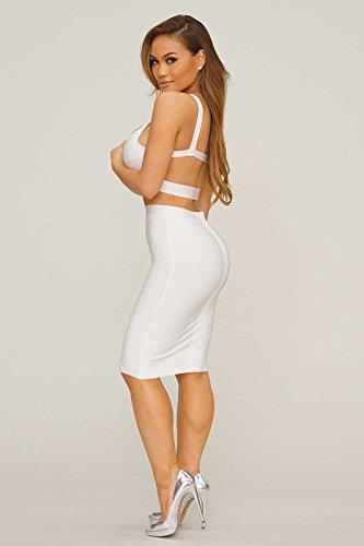 Donna Vestito Vestito Whoinshop Vestito Donna Whoinshop Bianco Whoinshop Bianco Donna Bianco Whoinshop CqOwSpCA