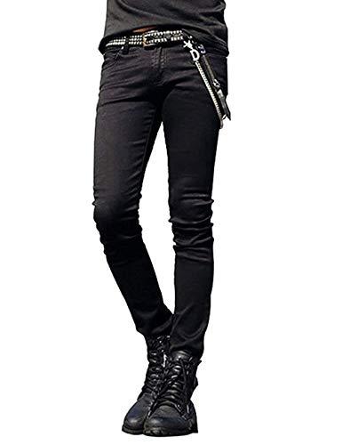 Elasticizzati Skinny Ragazzo Uomo A Jeans Casual Sportivi Colour Qk Catena Vita Da Pantaloni Con Bassa lannister xOwfqnFg6