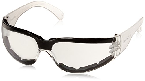 Bobster ESH302 Shield 3, ANSI Sport Sunglasses,Black Frame/Clear Lens,one size (Motorcycle Sunglasses Bobster Womens)