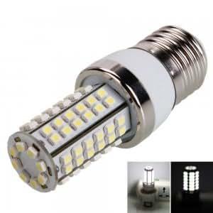 E27 4W 80LED 400LM 6000k White Light Corn Light (220V)