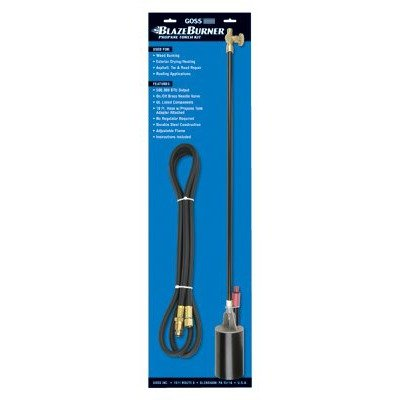 Goss KP-320MA Propane Torch Kit for Thawing, Heating and Weed Burning Goss Inc.