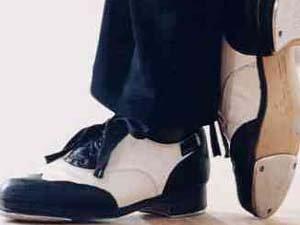 Arabesque Dance Flooring-Black