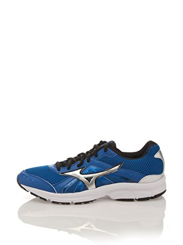 Mizuno Crusader 8 Herren Laufschuhe Running Shoes, Blue/Silver/Black