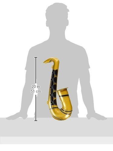 CREATIVE 21591 - Saxofón Hinchable, Color Dorado: Amazon.es ...