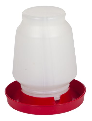 Farm Tuff Automatic Fountain Poultry Waterer, 1-Gallon by Farm Tuff
