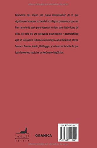 Ontologia Del Lenguaje/ Ontology of the Language (Spanish Edition) by Granica Adelphi