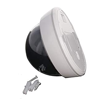 Othmro Fake Security Camera Dummy Dome CCTV for Home Outdoor Indoor White