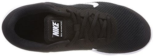 Air Running Nike Black 001 White Max Men s Advantage Shoes Nero 8XUrXF