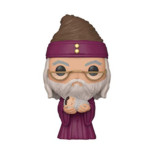 Funko Pop! Harry Potter Harry Potter - Dumbledore w/Baby Harry, Multicolor