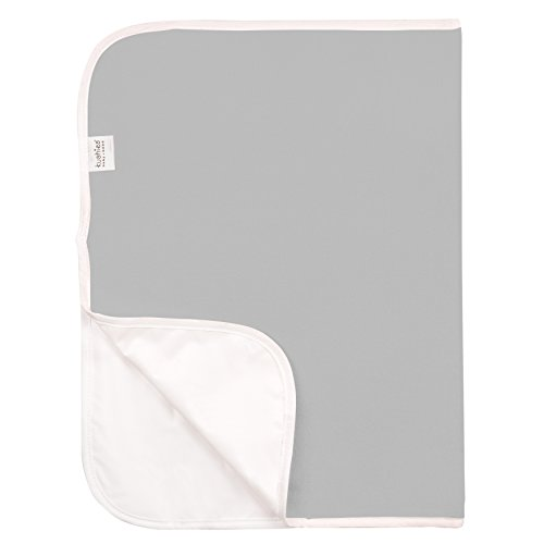 Kushies Baby Deluxe Change Pad Terry, Grey (Baby Pad Terry Changing)
