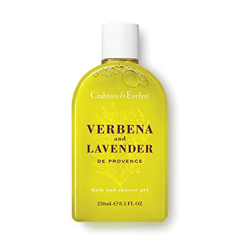 Crabtree & Evelyn Bath and Shower Gel, Verbena and Lavender, 8.5 Fl Oz