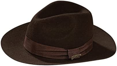 8d95036b47599 Indiana Jones tm Deluxe Adult Hat. Brown Felt. One size fit (gorro sombrero)