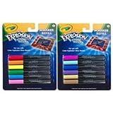 Crayola Color Explosion Glow Board Marker Refill Electric Colors