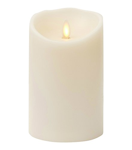 Liown Flameless Candle: Vanilla Scented, Moving Flame Candle with Timer (5
