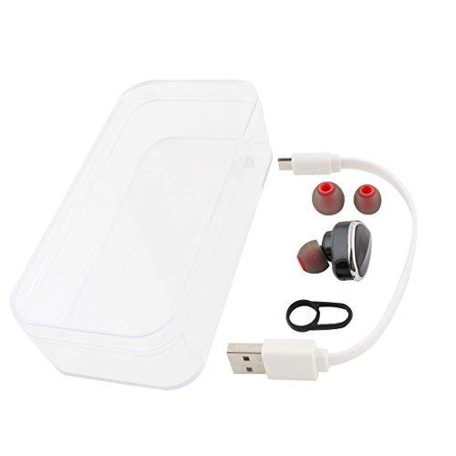 eDealMax telefono cellulare Stereo del telefono Mobile Mini Bluetooth Senza fili Auricolare Nero