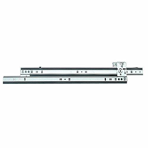 Knape & Vogt 1260P 18 Side Mount Full Extension Drawer Slide, 18-Inch, Pair